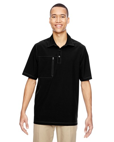 Men's Excursion Crosscheck Woven Polo
