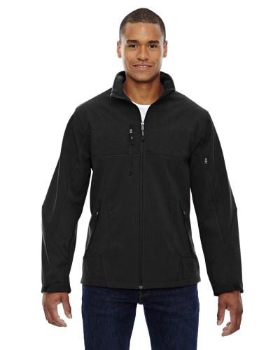 Men's Compass Colorblock Three-Layer Fleece Bonded Soft Shell Jacket