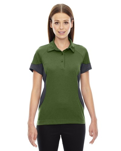 Ladies' Refresh UTK coollogik™ Coffee Performance Mélange Jersey Polo