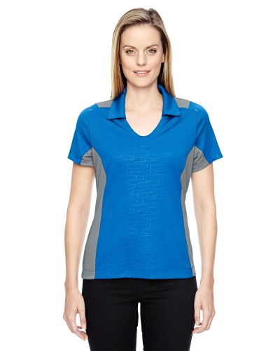 Ladies' Reflex UTK coollogik™ Performance Embossed Print Polo