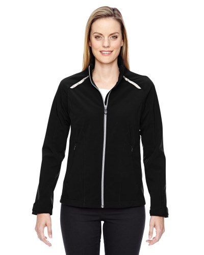 Ladies' Excursion Soft Shell Jacket with Laser Stitch Accents