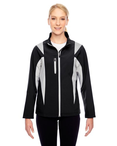 Ladies' Icon Colorblock Soft Shell Jacket