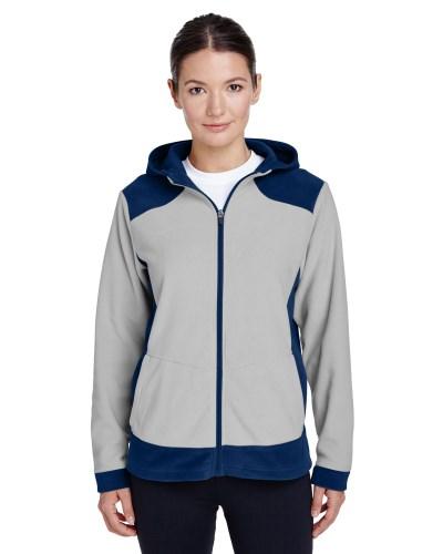 Ladies' Rally Colorblock Microfleece Jacket