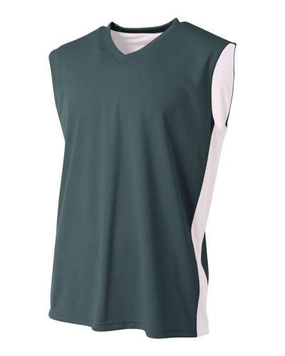 Youth Reversible Moisture Management Muscle Shirt