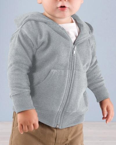 Infant Zip Fleece Hoodie With Pockets