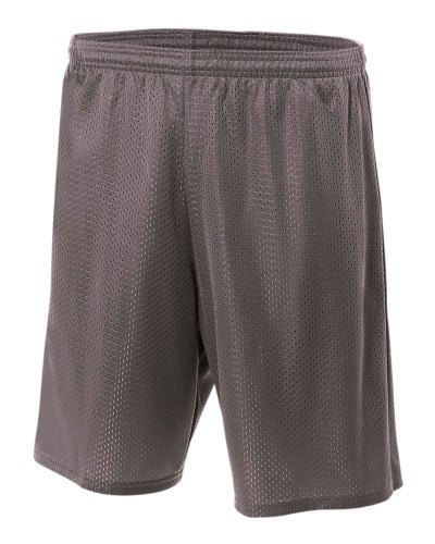 Adult 9inch Inseam Utility Mesh Shorts