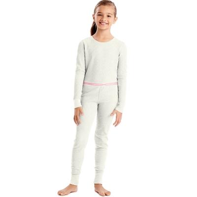 Hanes X-Temp 153 Girls Organic Cotton Thermal Set
