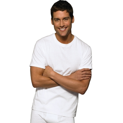 Hanes Ultimate 153 ComfortSoft TAGLESS Mens Crewneck Undershirt 3-Pack