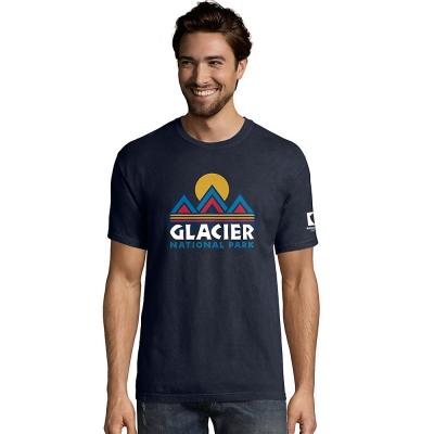 Hanes ComfortWash Glacier National Park Graphic Short Sleeve Tee