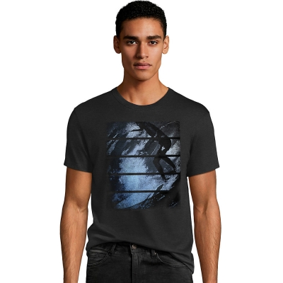 Mens Surfer Stripes Graphic Tee