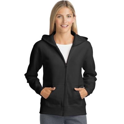 Hanes ComfortSoft EcoSmart Womens Full-Zip Hoodie Sweatshirt