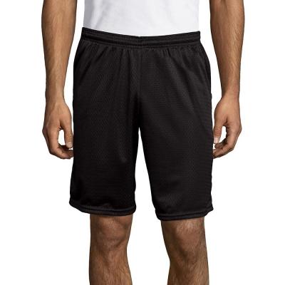 Hanes Sport 153 Mens Mesh Pocket Shorts