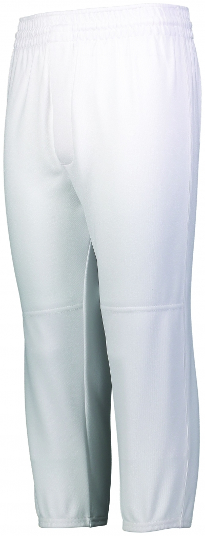 Youth Pull-Up Baseball Pant With Elastic Cuffs