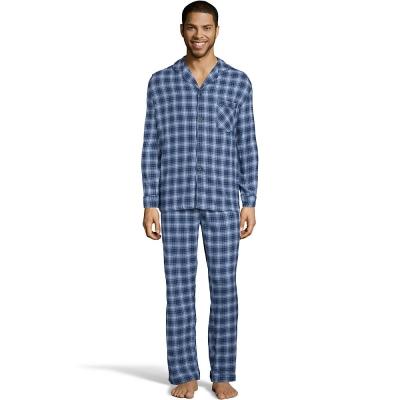 Hanes Men's Flannel Pajamas