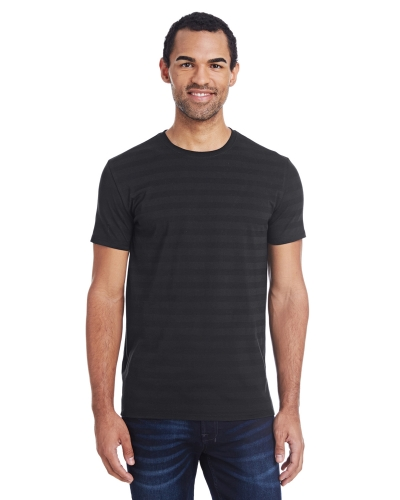 Threadfast Apparel 152A Men'S Invisible Stripe Short-Sleeve T-Shirt