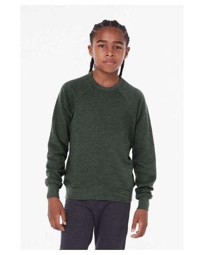 Youth Sponge Fleece Raglan Sweatshirt