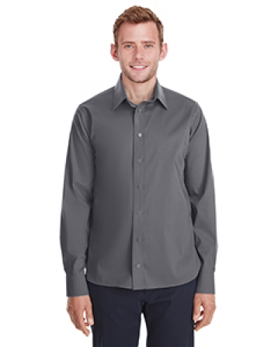 Men'S Crown  Collection? Stretch Broadcloth Untucked Shirt
