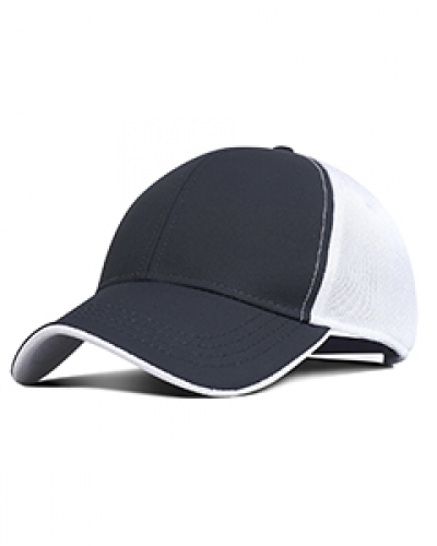 Performance Pearl Nylon Mesh Back Cap
