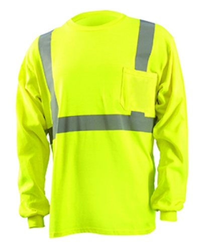 Men'S Classic Flame Resistant Long Sleeve Hrc 2 T-Shirt