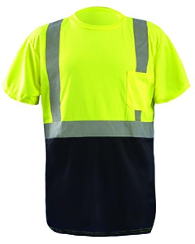 Men'S Classic Black Bottom T-Shirt
