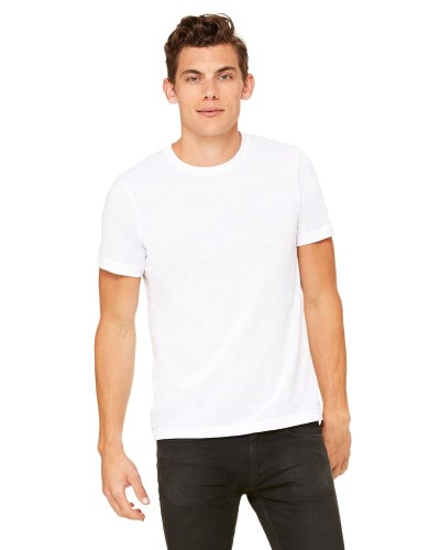 Bella + Canvas 3650 Unisex Poly-Cotton Short-Sleeve T-Shirt