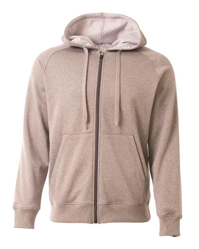 Men's Agility Full-Zip Tech Fleece Hooded Sweatshirt
