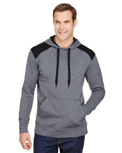 Men's Tourney Color Block Tech Fleece Hooded Sweatshirt