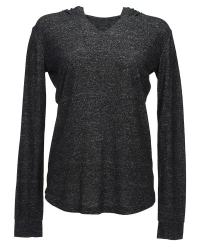 Ladies' Cozy Pullover Hoodie T-Shirt