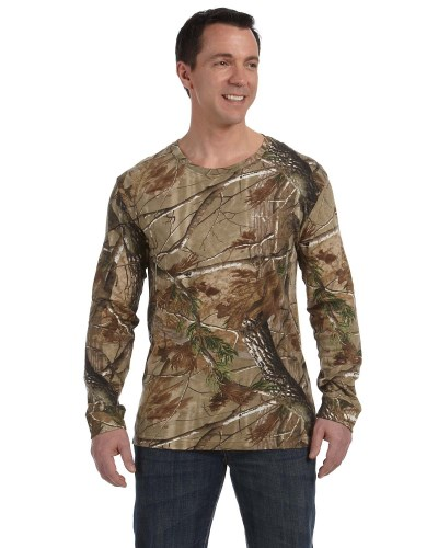 Men's Realtree® Long-Sleeve Camo T-Shirt