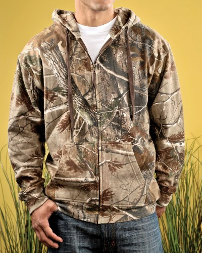 Men's REALTREE® Camo Zip Fleece Hoodie
