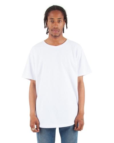 Adult 6 oz., Curved Hem Long T-Shirt