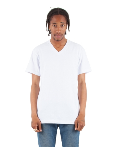 Adult 6.2 oz., V-Neck T-Shirt