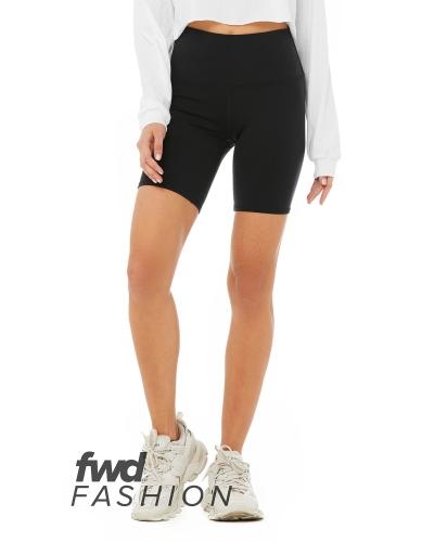 FWD Fashion Ladies' High Waist Biker Short