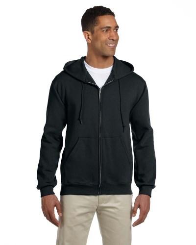 Adult 9.5 oz. Super Sweats® NuBlend® Fleece Full-Zip Hood