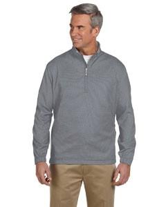 Men's Houndstooth Half-Zip Jacket