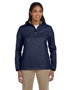 Ladies' Houndstooth Half-Zip Jacket