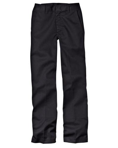 Boy's 7.75 oz. Flat Front Pant