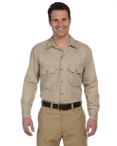 Unisex Long-Sleeve Work Shirt