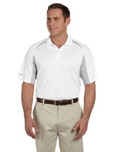 Men's Contrast Block Performance Dobby Polo