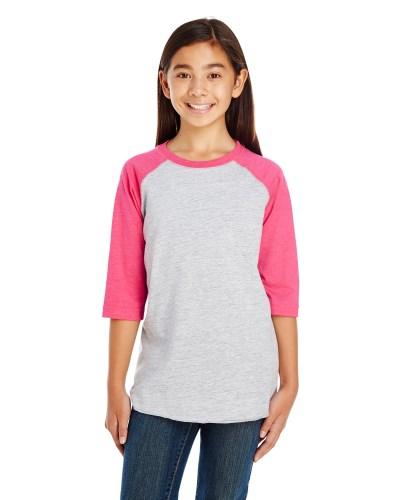 Youth Baseball Fine Jersey T-Shirt