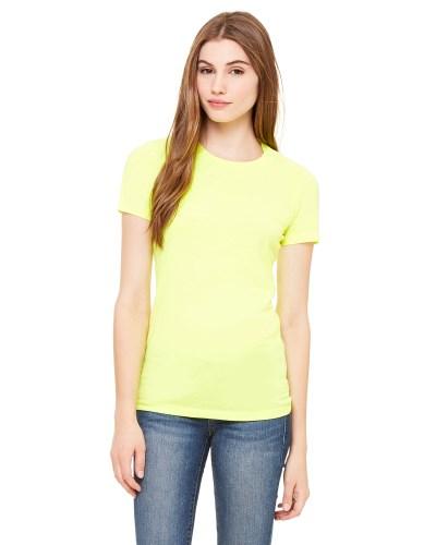 Ladies' Poly-Cotton Short-Sleeve T-Shirt