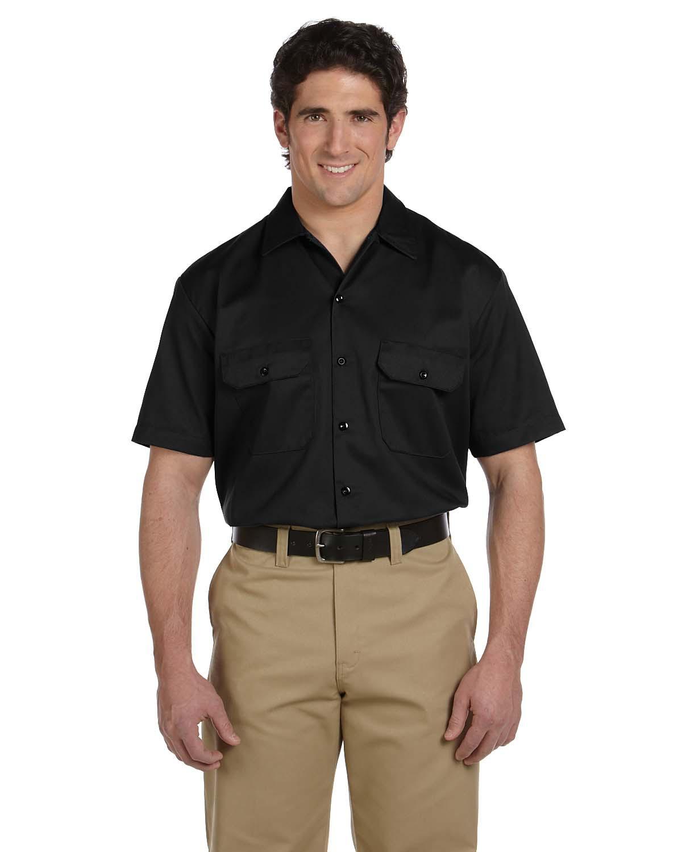 Unisex Short-Sleeve Work Shirt