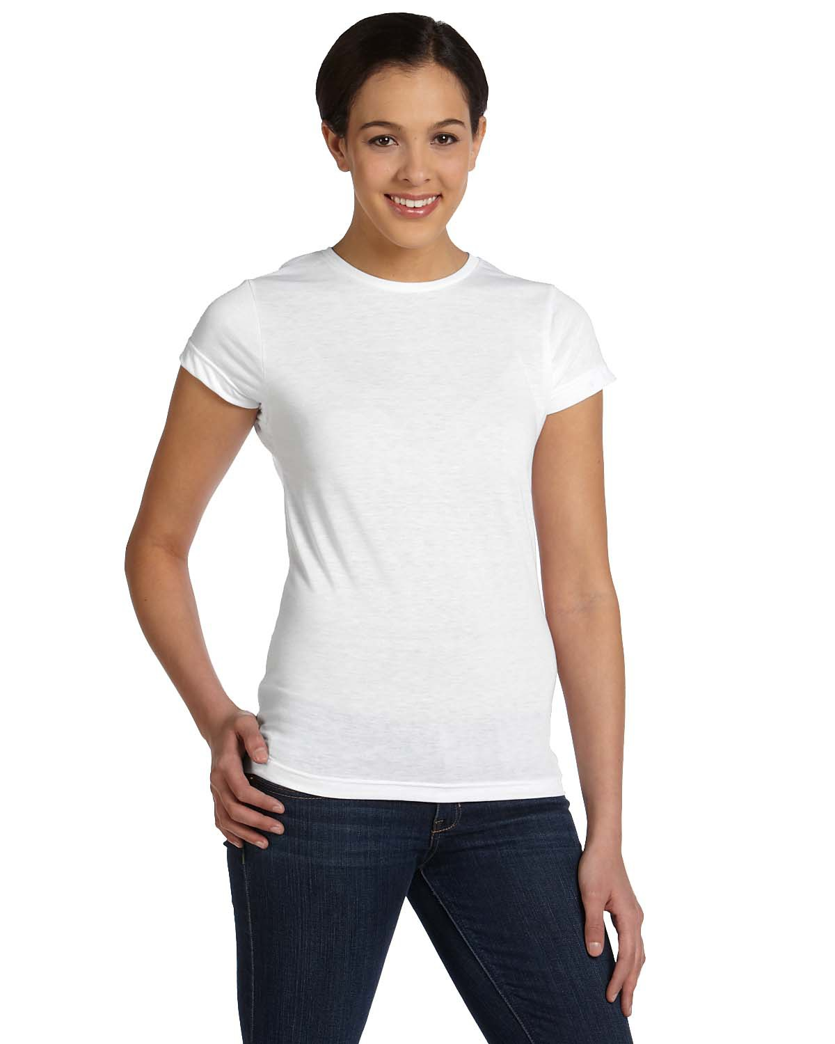 Ladies' Junior Fit Sublimation Polyester T-Shirt