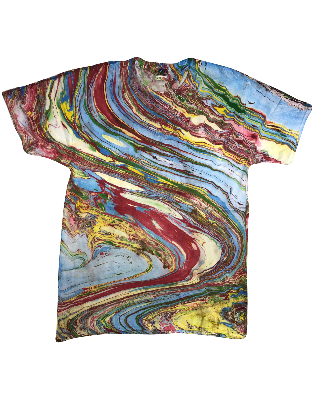 Youth 100% Cotton Marble T-Shirt