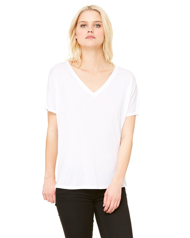 Ladies' Slouchy V-Neck T-Shirt