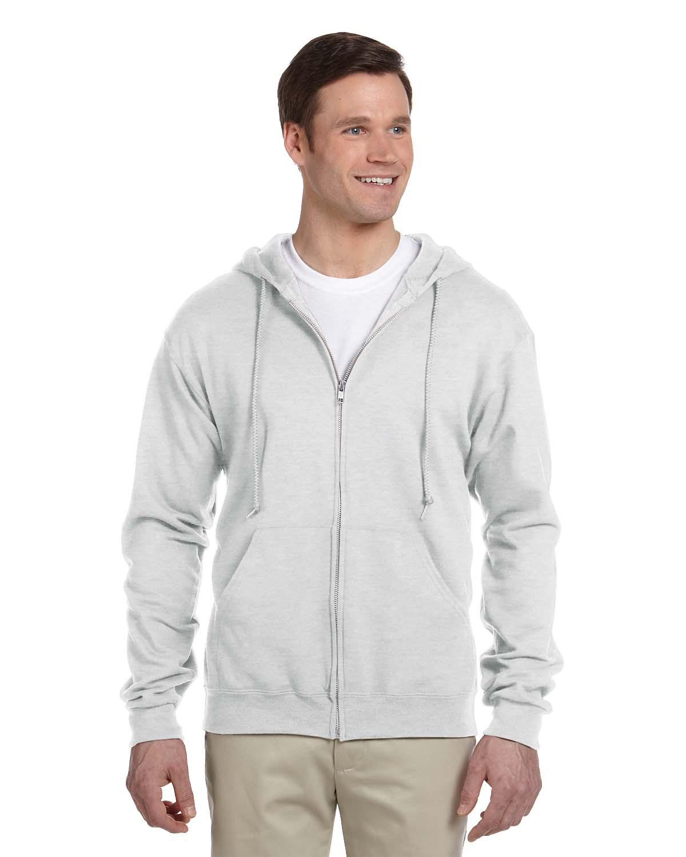Adult 8 oz. NuBlend® Fleece Full-Zip Hood