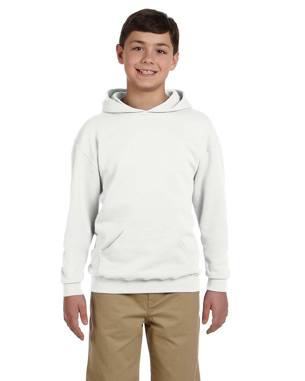 Youth 8 oz. NuBlend® Fleece Pullover Hood