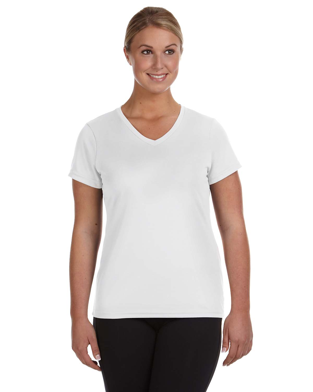 Augusta Sportswear 1790 Ladies' Moisture-Wicking V-Neck T-Shirt