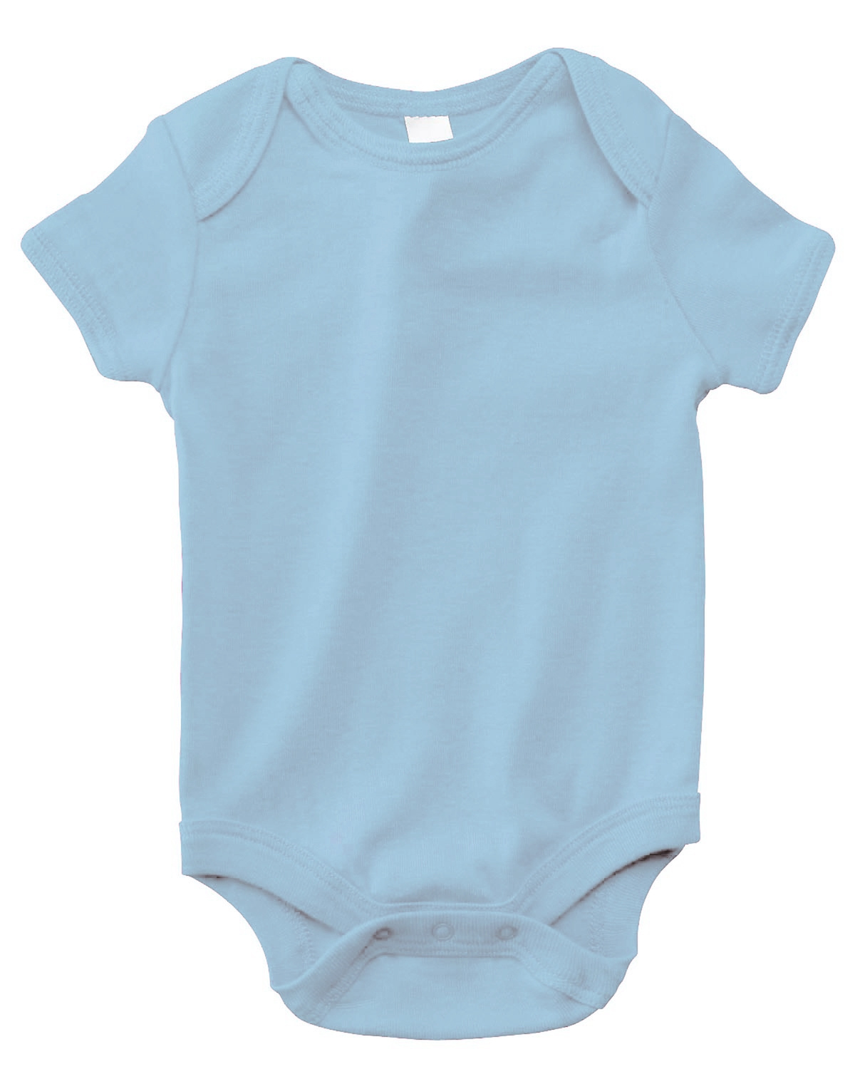 Infant Short-Sleeve Baby Rib One-Piece