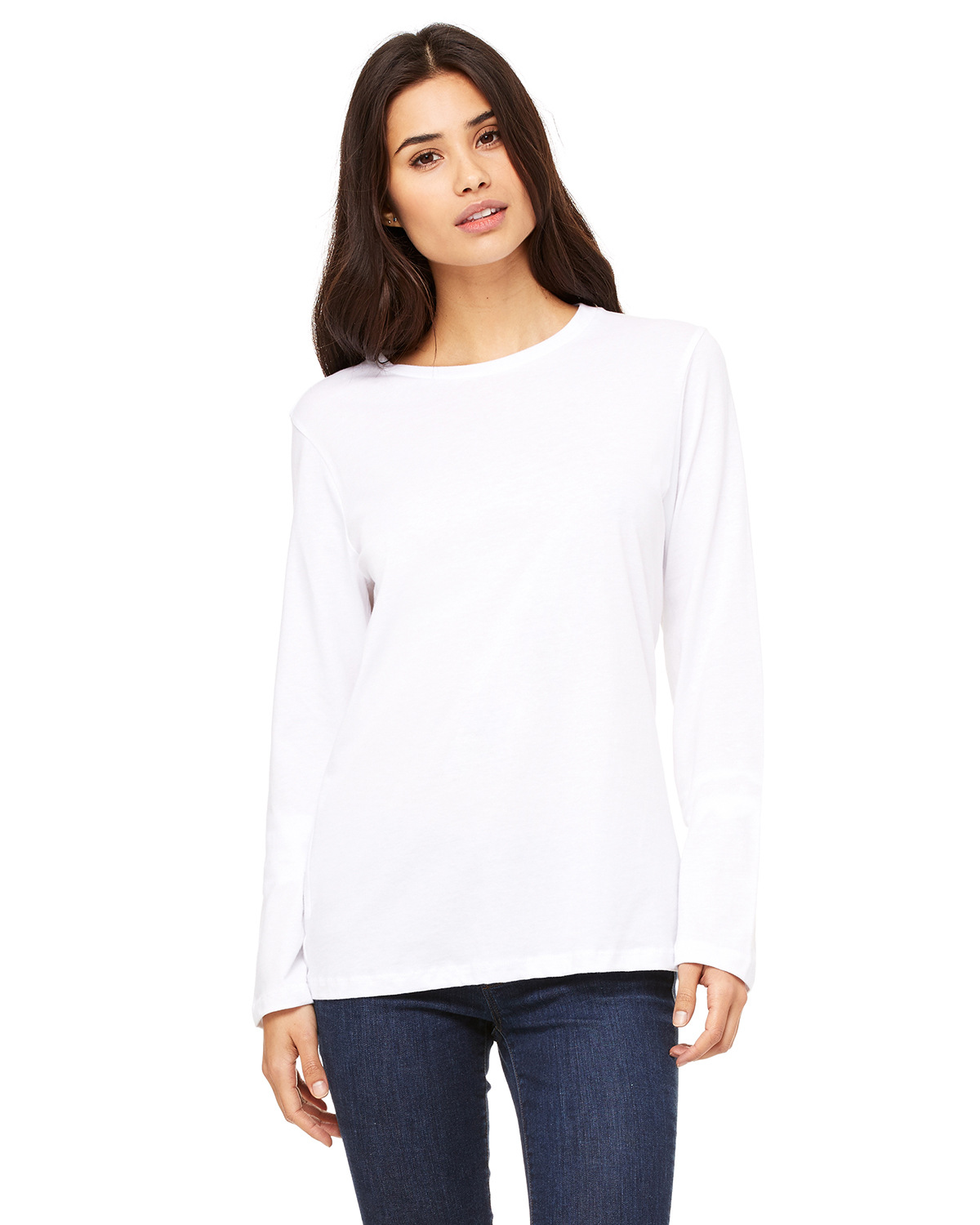 Bella + Canvas B6450 Ladies Relaxed Jersey Long-Sleeve T-Shirt